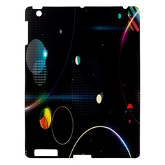 Glare Light Luster Circles Shapes Apple iPad 3/4 Hardshell Case