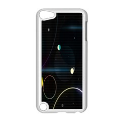 Glare Light Luster Circles Shapes Apple iPod Touch 5 Case (White)