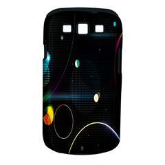 Glare Light Luster Circles Shapes Samsung Galaxy S III Classic Hardshell Case (PC+Silicone)