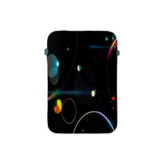 Glare Light Luster Circles Shapes Apple iPad Mini Protective Soft Cases
