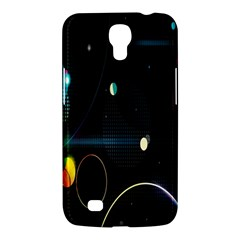 Glare Light Luster Circles Shapes Samsung Galaxy Mega 6.3  I9200 Hardshell Case
