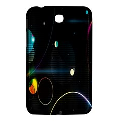 Glare Light Luster Circles Shapes Samsung Galaxy Tab 3 (7 ) P3200 Hardshell Case