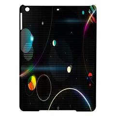 Glare Light Luster Circles Shapes iPad Air Hardshell Cases