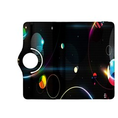 Glare Light Luster Circles Shapes Kindle Fire HDX 8.9  Flip 360 Case