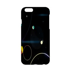 Glare Light Luster Circles Shapes Apple iPhone 6/6S Hardshell Case