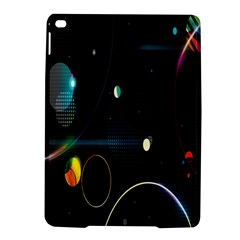 Glare Light Luster Circles Shapes iPad Air 2 Hardshell Cases
