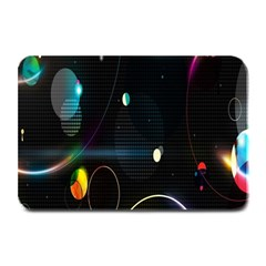 Glare Light Luster Circles Shapes Plate Mats