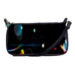Glare Light Luster Circles Shapes Shoulder Clutch Bags
