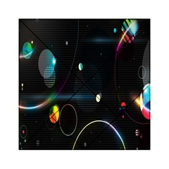 Glare Light Luster Circles Shapes Acrylic Tangram Puzzle (6  x 6 )