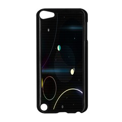 Glare Light Luster Circles Shapes Apple iPod Touch 5 Case (Black)