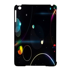 Glare Light Luster Circles Shapes Apple iPad Mini Hardshell Case (Compatible with Smart Cover)