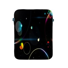Glare Light Luster Circles Shapes Apple iPad 2/3/4 Protective Soft Cases