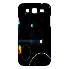 Glare Light Luster Circles Shapes Samsung Galaxy Mega 5.8 I9152 Hardshell Case