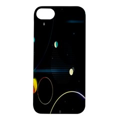 Glare Light Luster Circles Shapes Apple Iphone 5s/ Se Hardshell Case