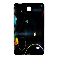 Glare Light Luster Circles Shapes Samsung Galaxy Tab 4 (8 ) Hardshell Case