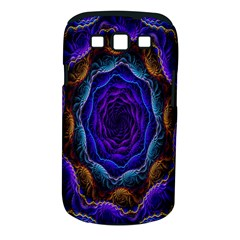 Flowers Dive Neon Light Patterns Samsung Galaxy S III Classic Hardshell Case (PC+Silicone)