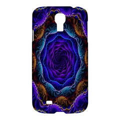 Flowers Dive Neon Light Patterns Samsung Galaxy S4 I9500/I9505 Hardshell Case