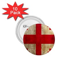 Georgia Flag Mud Texture Pattern Symbol Surface 1.75  Buttons (10 pack)