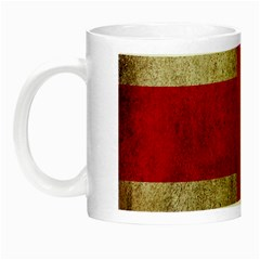 Georgia Flag Mud Texture Pattern Symbol Surface Night Luminous Mugs