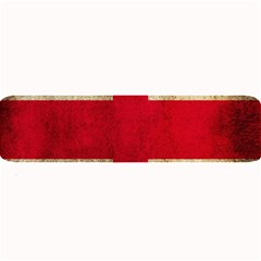 Georgia Flag Mud Texture Pattern Symbol Surface Large Bar Mats