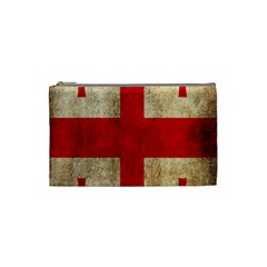 Georgia Flag Mud Texture Pattern Symbol Surface Cosmetic Bag (small)