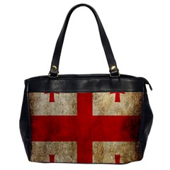 Georgia Flag Mud Texture Pattern Symbol Surface Office Handbags