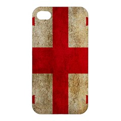 Georgia Flag Mud Texture Pattern Symbol Surface Apple iPhone 4/4S Hardshell Case