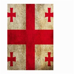 Georgia Flag Mud Texture Pattern Symbol Surface Small Garden Flag (Two Sides)