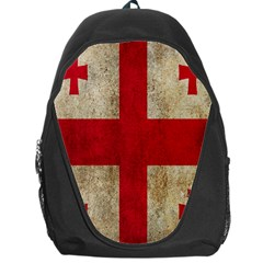 Georgia Flag Mud Texture Pattern Symbol Surface Backpack Bag