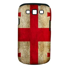 Georgia Flag Mud Texture Pattern Symbol Surface Samsung Galaxy S III Classic Hardshell Case (PC+Silicone)