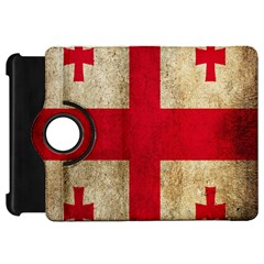 Georgia Flag Mud Texture Pattern Symbol Surface Kindle Fire HD 7