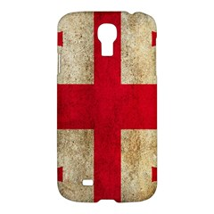 Georgia Flag Mud Texture Pattern Symbol Surface Samsung Galaxy S4 I9500/I9505 Hardshell Case