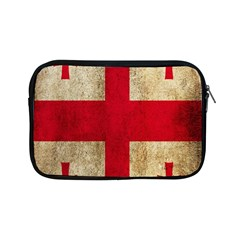 Georgia Flag Mud Texture Pattern Symbol Surface Apple iPad Mini Zipper Cases