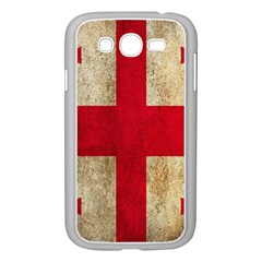 Georgia Flag Mud Texture Pattern Symbol Surface Samsung Galaxy Grand DUOS I9082 Case (White)