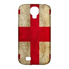 Georgia Flag Mud Texture Pattern Symbol Surface Samsung Galaxy S4 Classic Hardshell Case (PC+Silicone)
