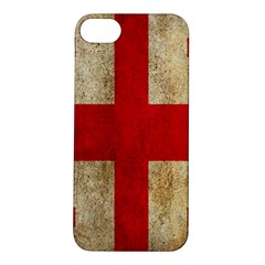 Georgia Flag Mud Texture Pattern Symbol Surface Apple iPhone 5S/ SE Hardshell Case