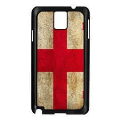 Georgia Flag Mud Texture Pattern Symbol Surface Samsung Galaxy Note 3 N9005 Case (Black)