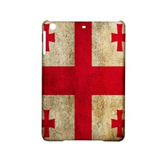 Georgia Flag Mud Texture Pattern Symbol Surface iPad Mini 2 Hardshell Cases