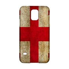 Georgia Flag Mud Texture Pattern Symbol Surface Samsung Galaxy S5 Hardshell Case