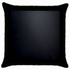 Leather Stitching Thread Perforation Perforated Leather Texture Throw Pillow Case (black)