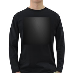 Leather Stitching Thread Perforation Perforated Leather Texture Long Sleeve Dark T-Shirts