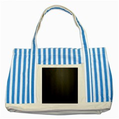 Leather Stitching Thread Perforation Perforated Leather Texture Striped Blue Tote Bag