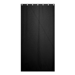 Leather Stitching Thread Perforation Perforated Leather Texture Shower Curtain 36  X 72  (stall)