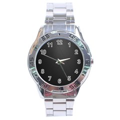 Leather Stitching Thread Perforation Perforated Leather Texture Stainless Steel Analogue Watch