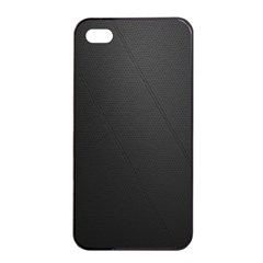 Leather Stitching Thread Perforation Perforated Leather Texture Apple iPhone 4/4s Seamless Case (Black)