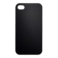 Leather Stitching Thread Perforation Perforated Leather Texture Apple iPhone 4/4S Hardshell Case