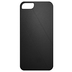 Leather Stitching Thread Perforation Perforated Leather Texture Apple iPhone 5 Classic Hardshell Case