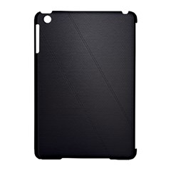 Leather Stitching Thread Perforation Perforated Leather Texture Apple Ipad Mini Hardshell Case (compatible With Smart Cover)