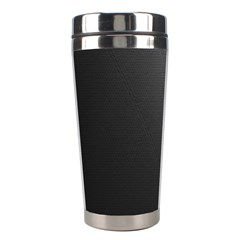 Leather Stitching Thread Perforation Perforated Leather Texture Stainless Steel Travel Tumblers