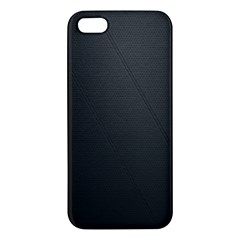 Leather Stitching Thread Perforation Perforated Leather Texture iPhone 5S/ SE Premium Hardshell Case